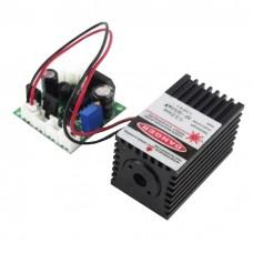 Зелений лазерний випромінювач 532nm 30-50mW модуль в зборі