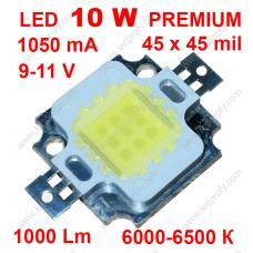10Вт светодиод DRP-10WCY45W  6000К 1000Лм