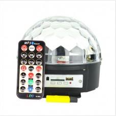 Світломузика Professional Magic Ball + MP3 + пульт управління