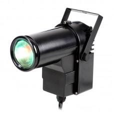Светодиодный прожектор SPOT RGB LED DJ 9W  для подсветки зеркального шара