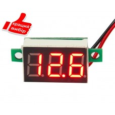 Универсальный, цифровой, автомобильный вольтметр 4-30В