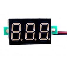 Універсальний, цифровий, високоточний вольтметр DC 0-100В
