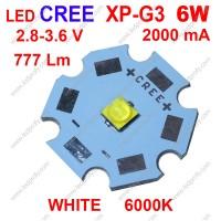 6Вт светодиод CREE XP-G3