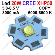 20Вт белый светодиод CREE копия XHP50