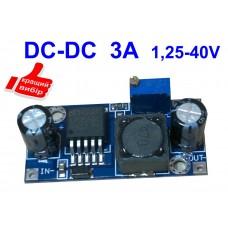 Понижающий DC/DC преобразователь 3.2-40В 3А