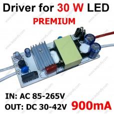 Драйвер для 30Вт светодиода 900мА, 38В